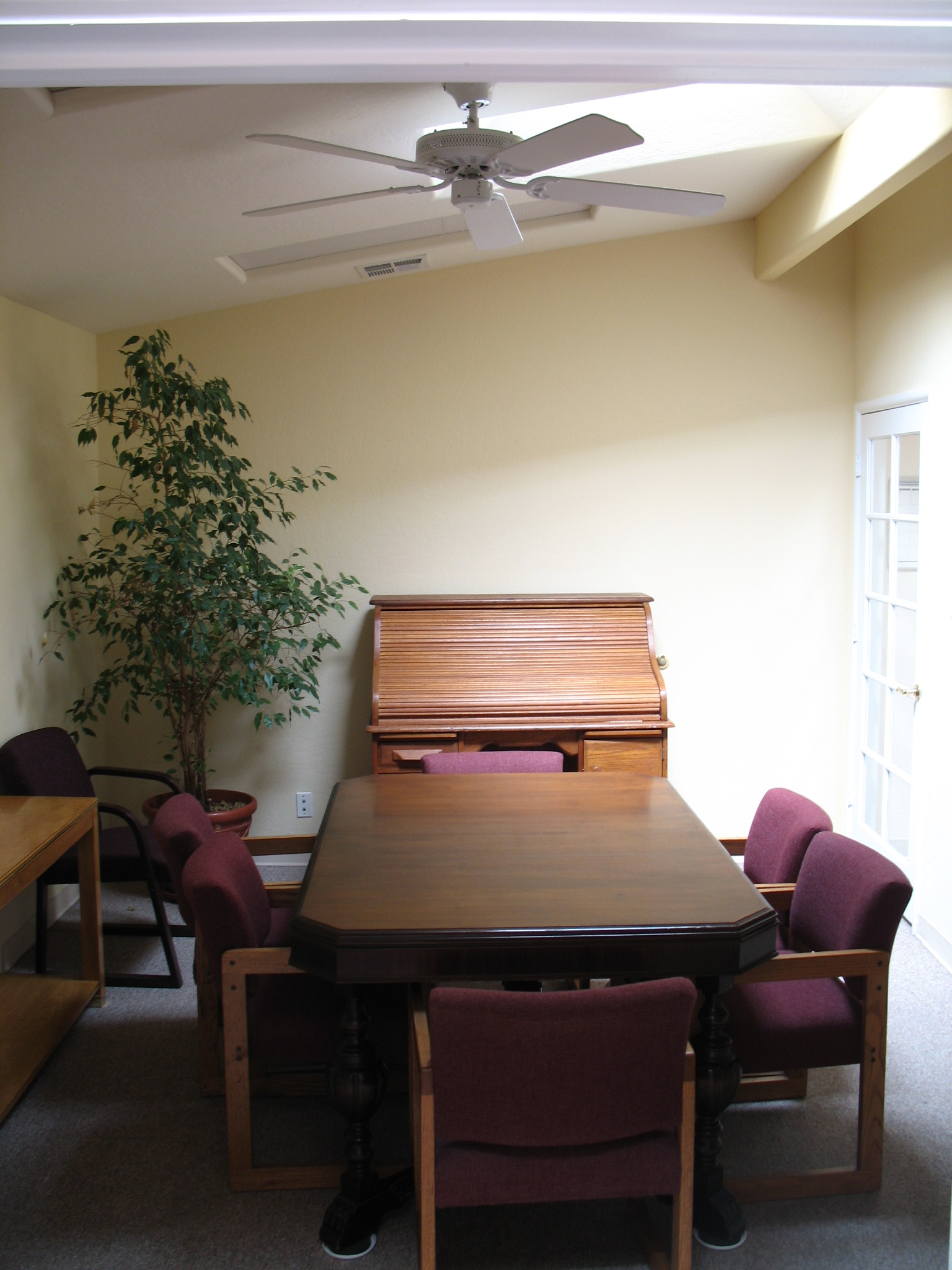 Conference room inside at Fig Garden Executive Suites