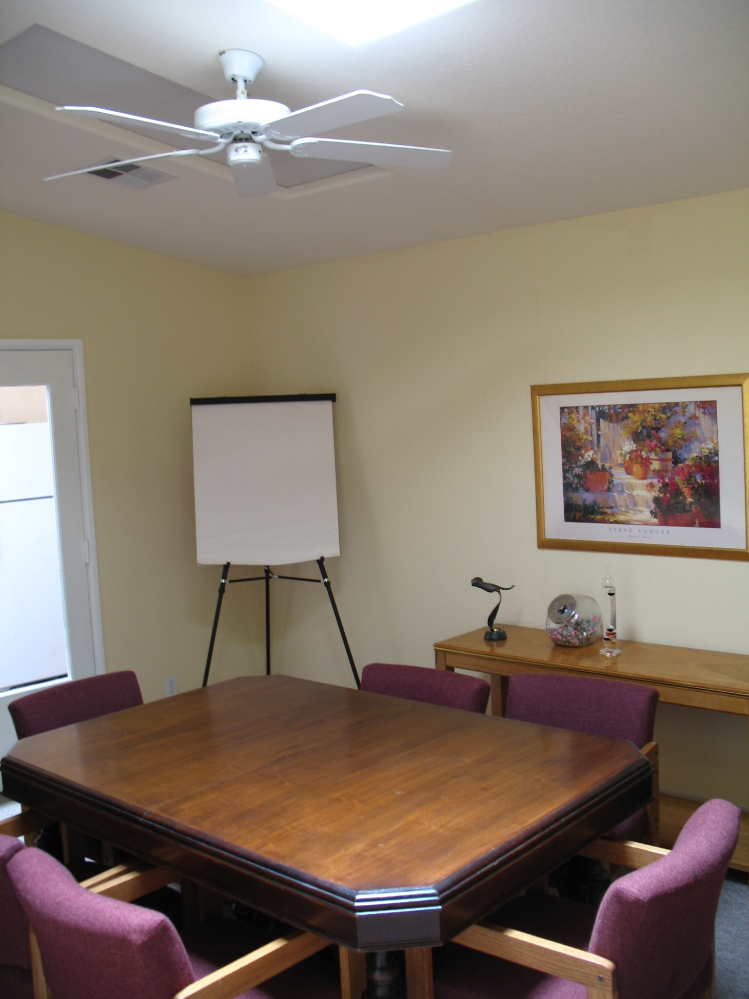 Conference room interior at Fig Garden Executive Suites